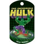 Hulk Lift Logo Chrome Large Military ID Quick-Tag