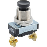 Momentary Contact Switch (125V Push Button)