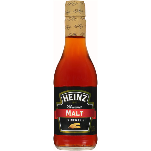 Heinz Gourmet Malt Vinegar, 12 fl OZ Bottle (Pack of 12)