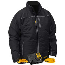 DEWALT® Men's Heated Quilted Soft Shell Jacket