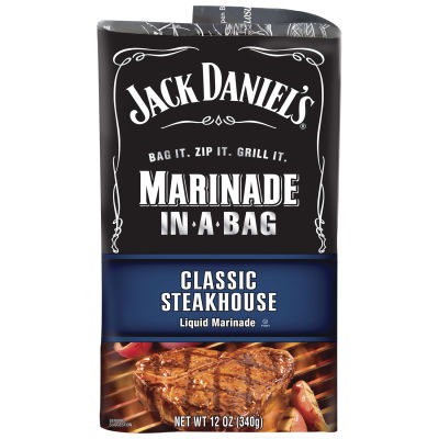 Jack Daniel's™Classic Steakhouse Marinade In-A-Bag 12 oz Pouch