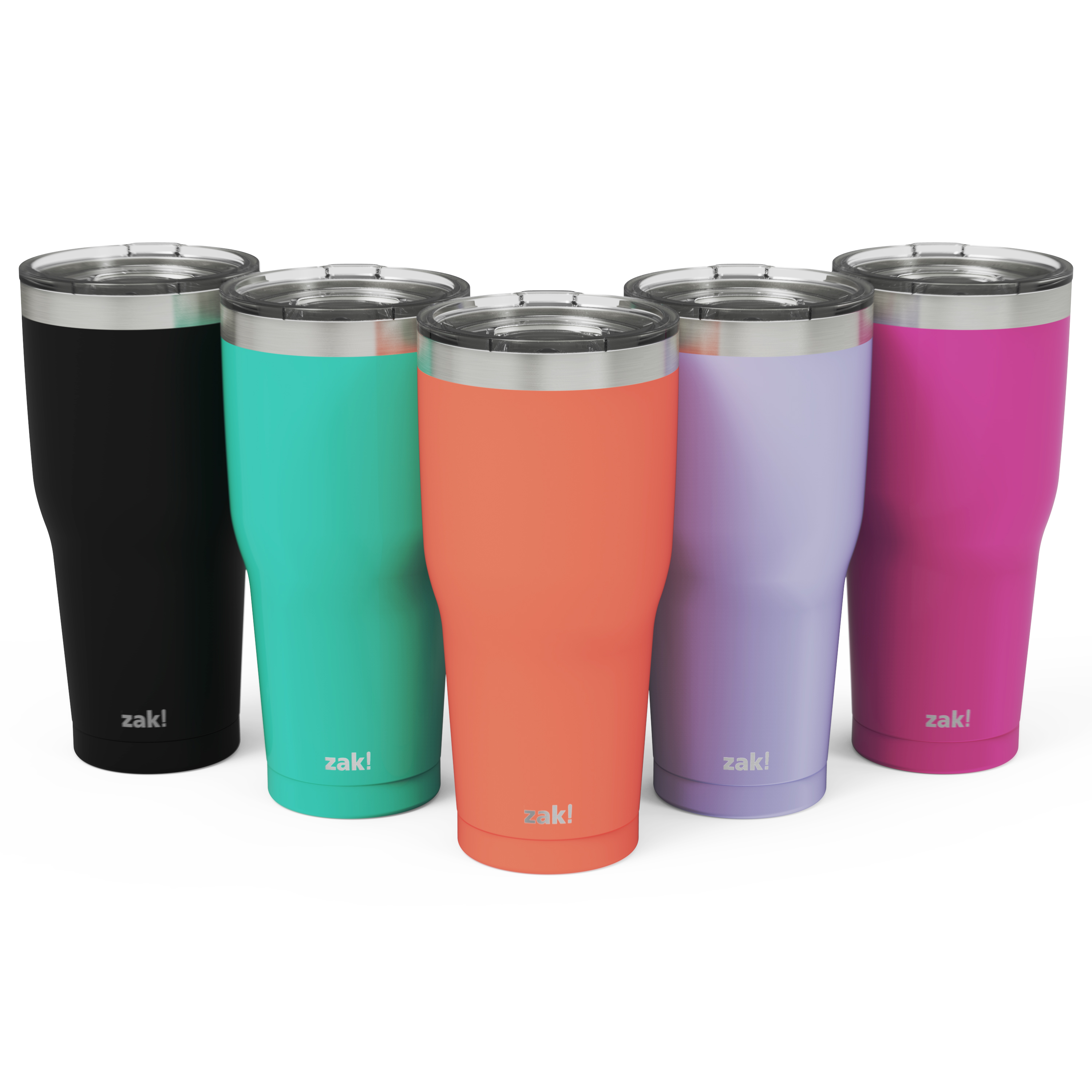 Zak Hydration 30 ounce Vacuum Insulated Stainless Steel Tumbler, Peony slideshow image 5