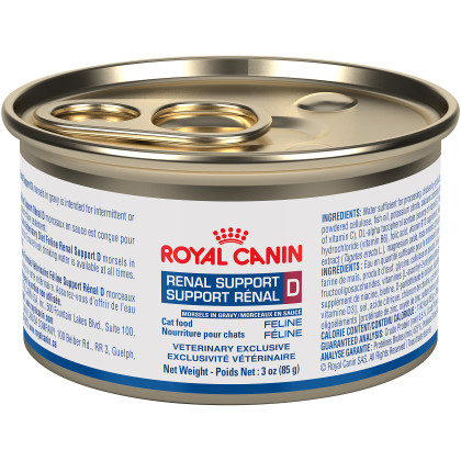 Royal Canin Veterinary Diet Feline Renal Support D Canned Cat Food