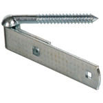 Hardware Essentials Gate Screw Hooks and Strap Hinge