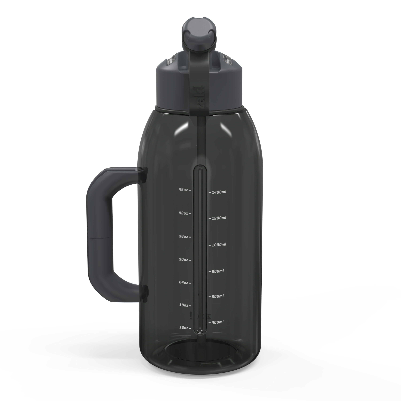 Genesis 64 ounce Water Bottle, Charcoal slideshow image 8