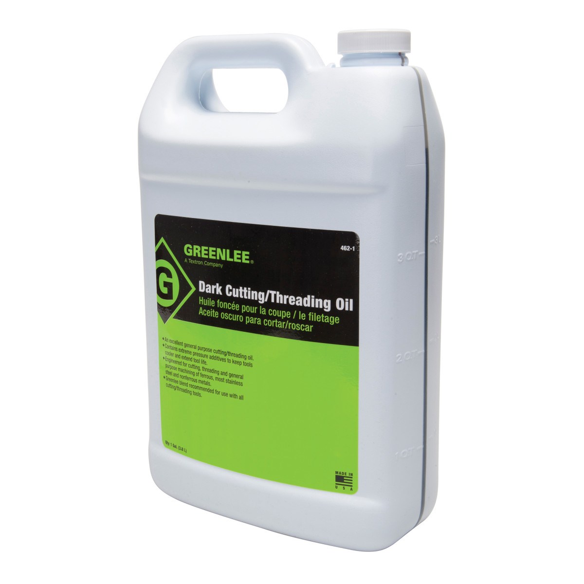 Greenlee 462-1 Dark Cutting / Threading Oil, 1-Gallon