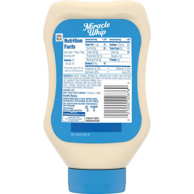 Miracle Whip Light Dressing 22 fl oz Bottle