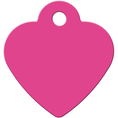 Pink Small Heart Quick-Tag 5 Pack