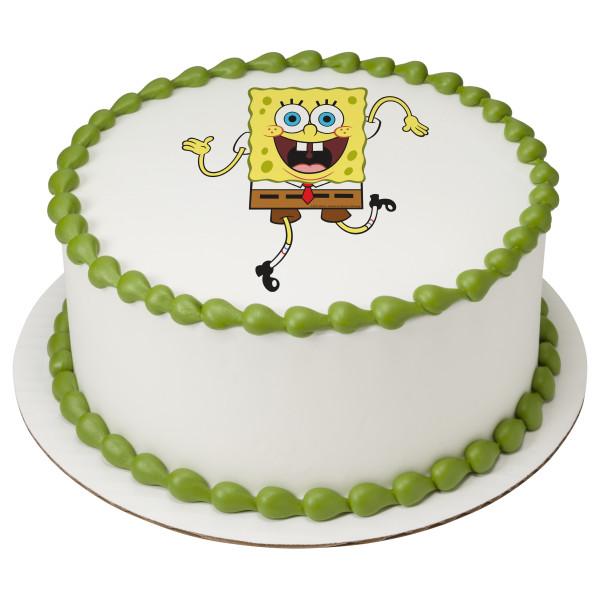 SpongeBob SquarePants™ Wacky PhotoCake® Edible Image®