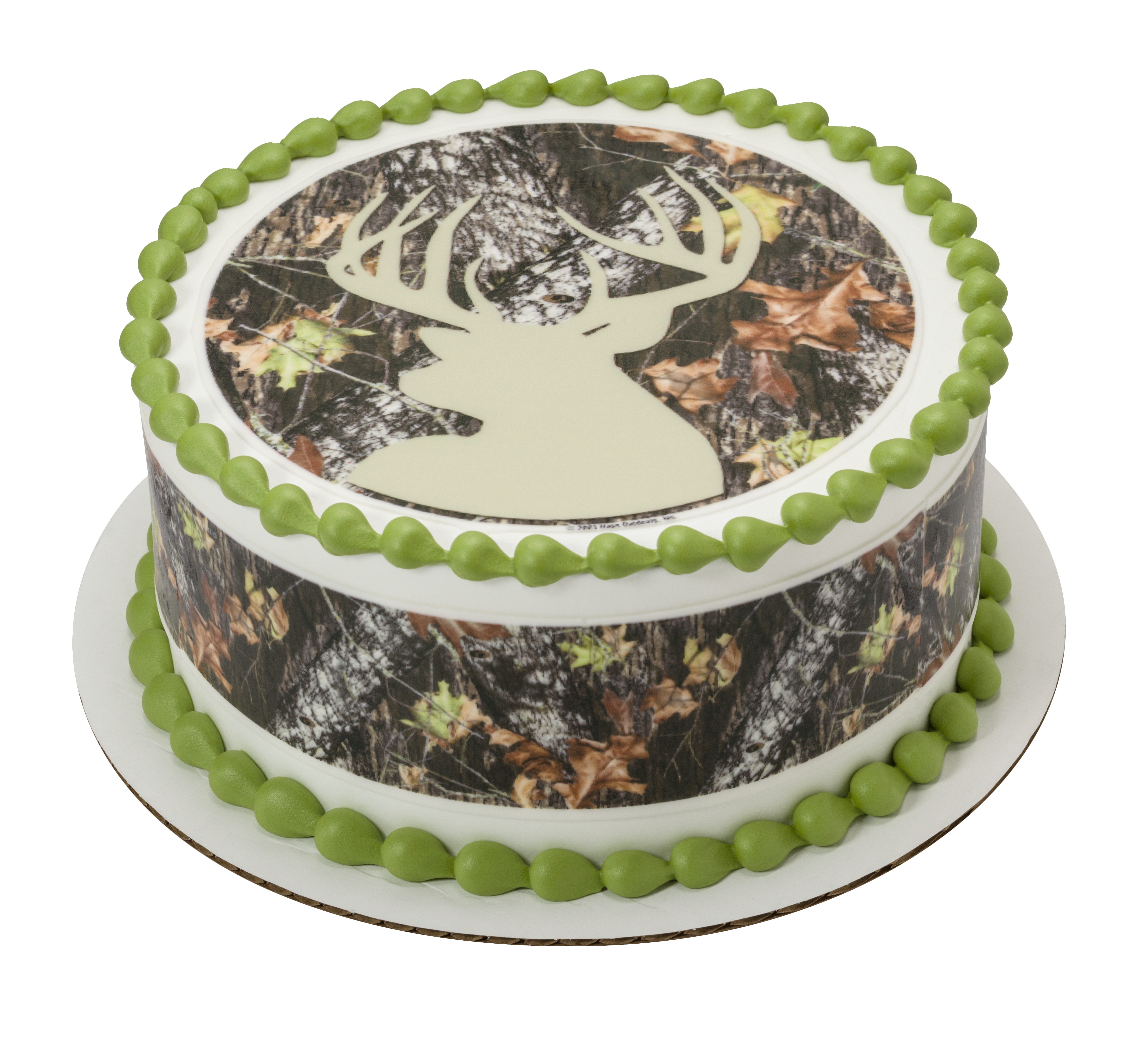 mossy oak wedding cake toppers mossy oak 174 up 174 silhouette photocake 174 image decopac 17539