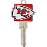 NFL Kansas City Chiefs Key Blank