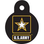 Army Small Circle Quick-Tag