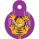Garfield Scratches Small Circle Quick-Tag