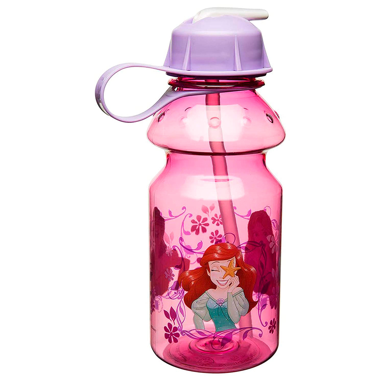 Disney 14 ounce Water Bottle, Belle & Ariel slideshow image 1