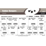 Automotive Rubber Bumpers Assortment