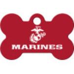 Marines Small Bone Quick-Tag