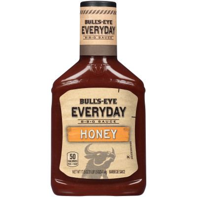 Bull's-Eye Everyday Honey Barbecue Sauce 17.5 oz Bottle