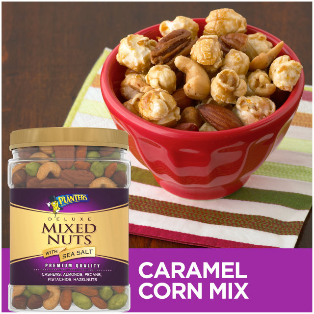 PLANTERS Deluxe Mixed Nuts 34 oz Jar image