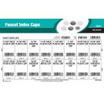 Faucet Index Caps Assortment