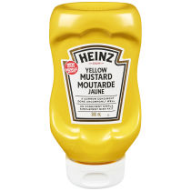 HEINZ YELLOW MUSTARD CA 12 380ML