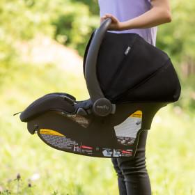 LiteMax DLX Infant Car Seat with SafeZone Load Leg Base