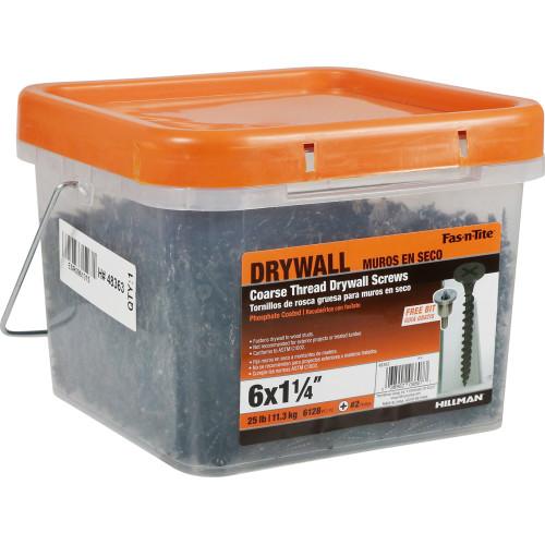 Fas-n-Tite Coarse Drywall Screw #6 x 1-1/4