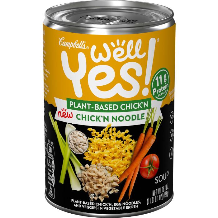 Vegetarian Chick'n Noodle Soup