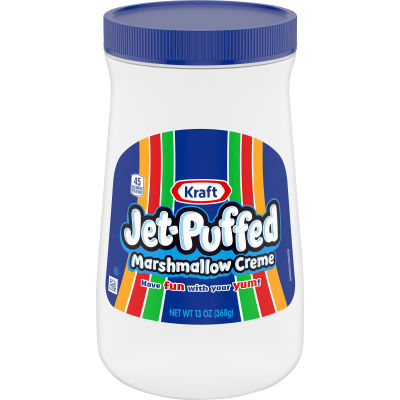Kraft Jet-Puffed Marshmallow Creme 13 oz Jar