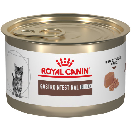 Gastrointestinal Kitten Ultra Soft Mousse in Sauce Canned Cat Food