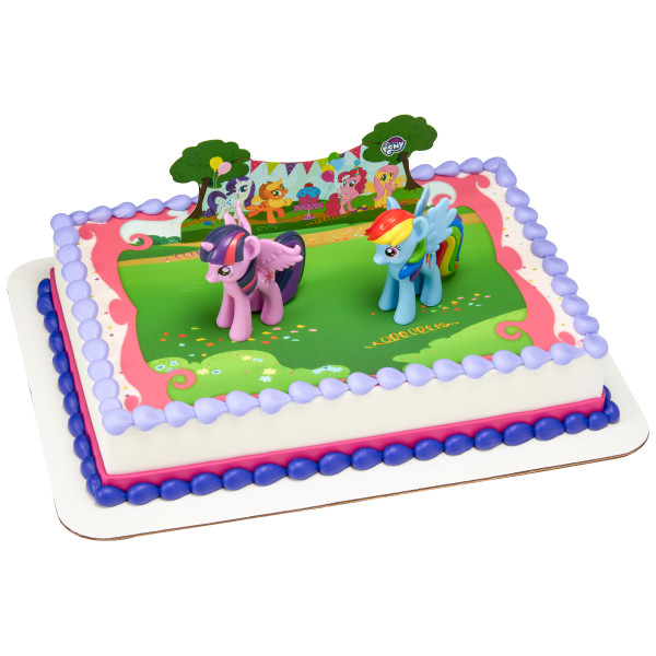 My Little Pony™ It's a Pony Party! PhotoCake® Edible Image® DecoSet® Background