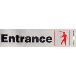 "Entrance Sign (2"" x 8"")"