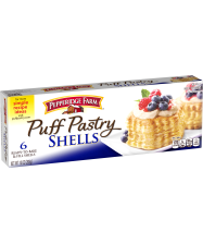(10 ounces) Pepperidge Farm® Puff Pastry Shells, prepared according to package directions