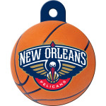 New Orleans Pelicans Large Circle Quick-Tag