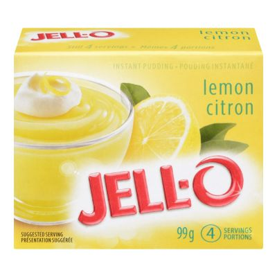 Jell-O Lemon Instant Pudding Mix
