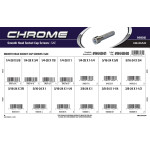 Chrome Smooth-Head Socket Cap Screws Assortment (SAE)