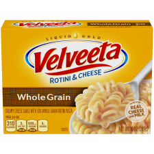 Kraft Velveeta Whole Grain Rotini & Cheese, 10 oz Box