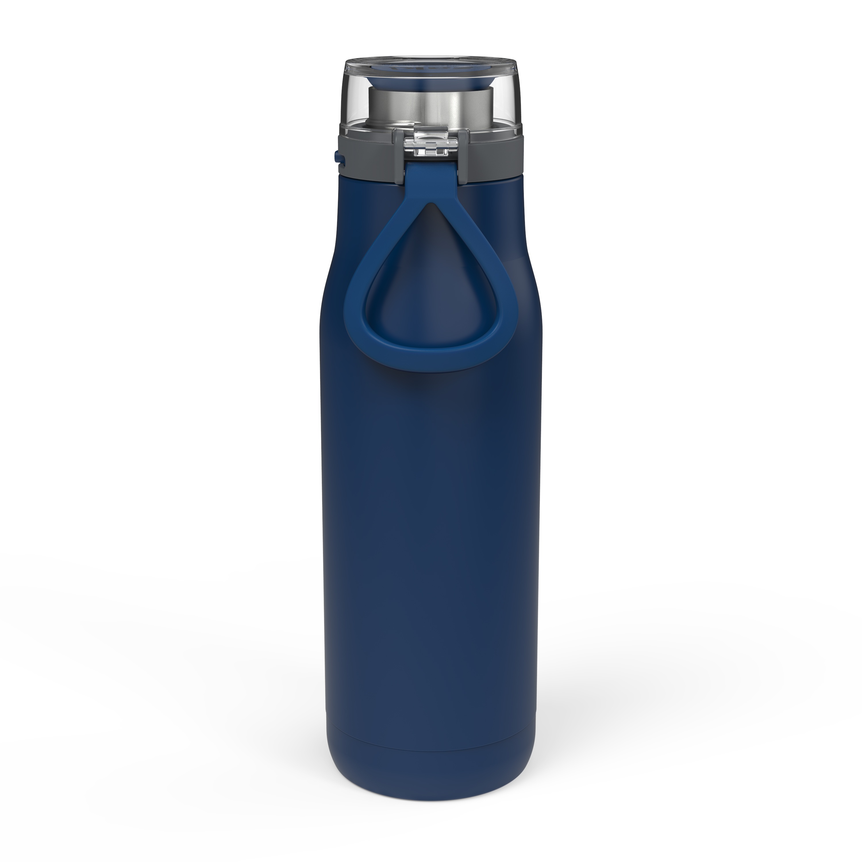 Kiona 20 ounce Vacuum Insulated Stainless Steel Tumbler, Indigo slideshow image 4