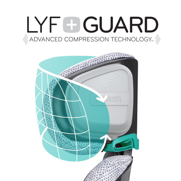 Lyf+Guard Advanced compression technology