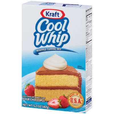 COOL WHIP Whipped Topping Mix 5.2 oz Box