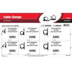 Self-Adhesive Cable Clamps Assortment