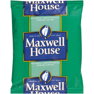 MAXWELL HOUSE Decaffeinated Roast & Ground Coffee, 1.5 oz. Packets (Pack of 42) image