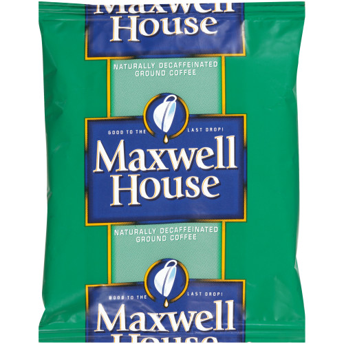 MAXWELL HOUSE Decaffeinated Roast & Ground Coffee, 1.5 oz. Packets (Pack of 42)