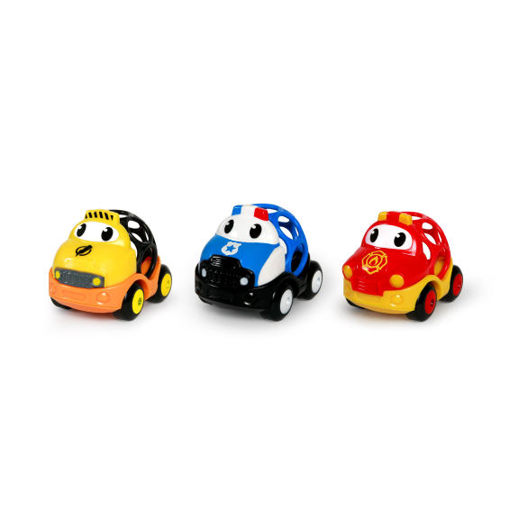 Go Grippers™ � Emergency Vehicles 3 Pack
