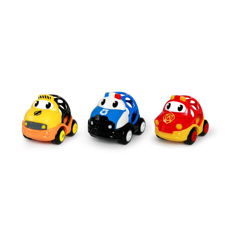 Go Grippers™ – Emergency Vehicles 3 Pack