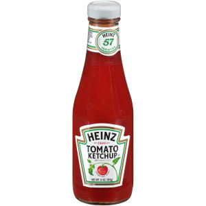 HEINZ Ketchup, 14 oz. Glass Bottles (Pack of 24) image