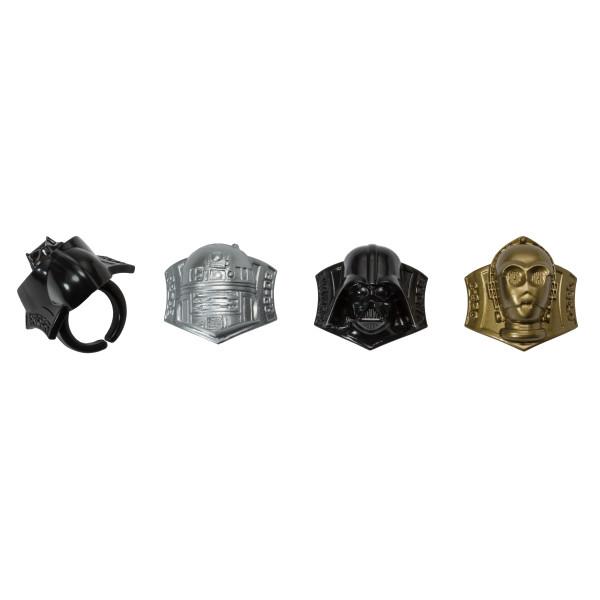 Star Wars™ Darth Vader™, R2-D2™, C-3PO™ Cupcake Rings