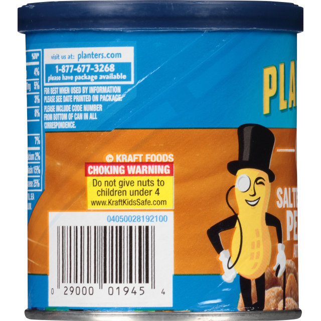 PLANTERS Salted Caramel Peanuts 6 oz Can