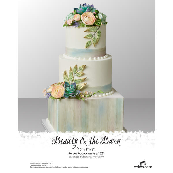 Beauty & The Barn Wedding The Magic of Cakes® Page