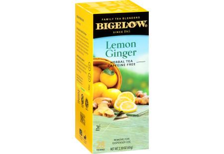 Lemon Ginger Herbal Tea - Case of 6 boxes - total of 168 tea bags