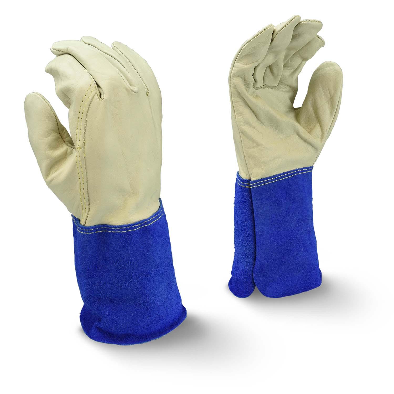Radians RWG6210 Mig-Tig Regular Grain Cowhide Leather Welding Glove